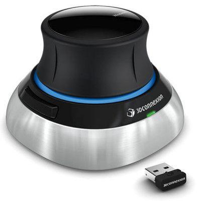 3Dconnexion SpaceMouse Wireless 2 - trådløs 3D-mus