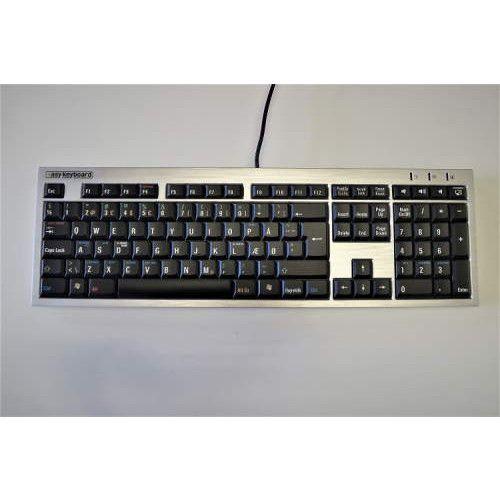EasyKeyboard: Lær snarveiene på ditt ergonomiske tastatur