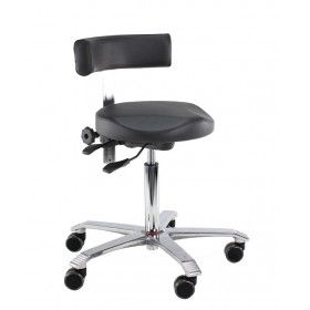Score Medical 6321 taburet med hjul og rygg