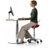 Incharge sadelstolen styrker din ryg hele dagen.